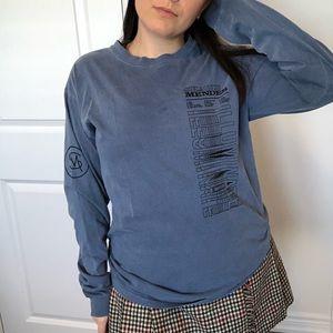 Tops - soft blue Shawn Mendes long sleeve shirt 💙